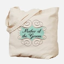Mother of the Groom Aqua Tote Bag