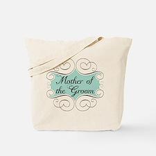 Mother of the Groom Aqua Tote Bag