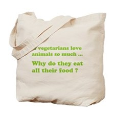 Vegetarians : The Reality Tote Bag