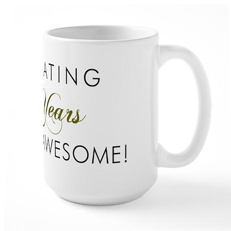 Celebrating 40 Years Large Mug