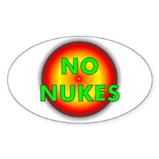 No Nukes Decal