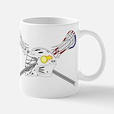 Lacrosse Helmet Mug