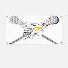 Lacrosse Helmet Banner