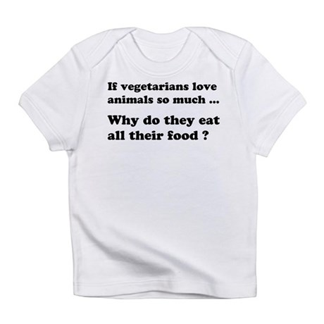Vegetarians : The Reality Infant T-Shirt