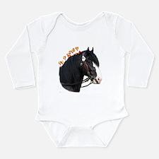 """Shire 1"" Long Sleeve Infant Bodysuit"