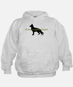 My Sister is a German Shepherd Hoodie