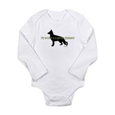 My Brother is a German Shepherd Long Sleeve Infant