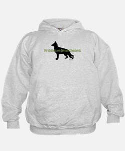 My Siblings are German Shepherds Hoodie