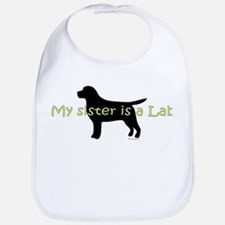 My Sister is a Lab Bib