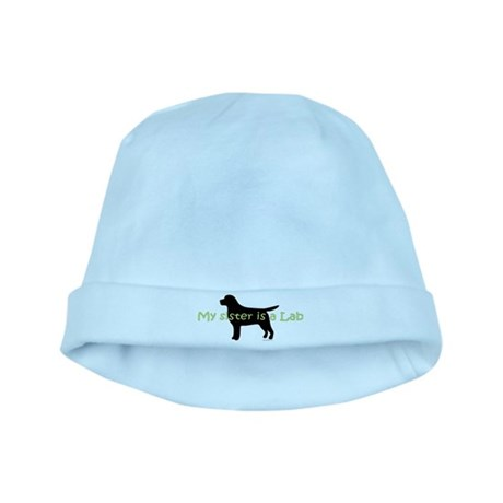 My Sister is a Lab baby hat