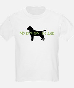 My Brother is a Lab T-Shirt