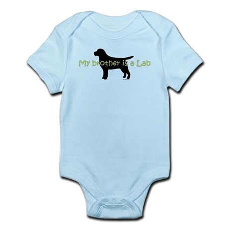 My Brother is a Lab Infant Bodysuit