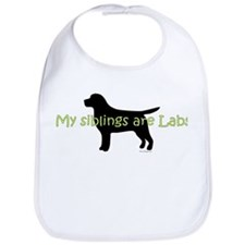 My Siblings are Labs Bib