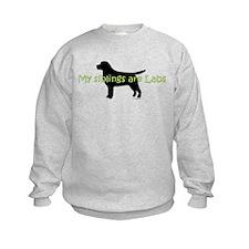 My Siblings are Labs Sweatshirt