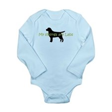 My Siblings are Labs Long Sleeve Infant Bodysuit