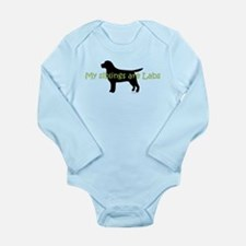 My Siblings are Labs Onesie Romper Suit