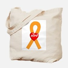 Orange Hope Tote Bag