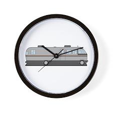 Classic Airstream Motor Home Wall Clock