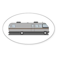 Classic Airstream Motor Home Decal