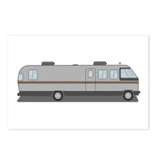 Classic Airstream Motor Home Postcards (Package of