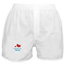 Kiss Me I'm Thai Boxer Shorts