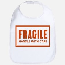 Handle With Care Bib