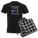 The Best Way Men's Dark Pajamas
