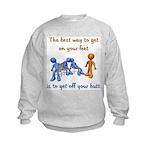 The Best Way Kids Sweatshirt