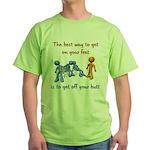 The Best Way Green T-Shirt