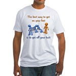 The Best Way Fitted T-Shirt
