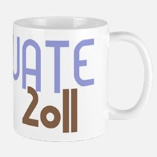 Graduate 2011 (Retro Purple) Mug
