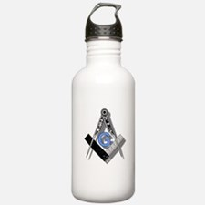Masonic Square and Compass #2 Water Bottle