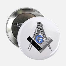 "Masonic Square and Compass #2 2.25"" Button"