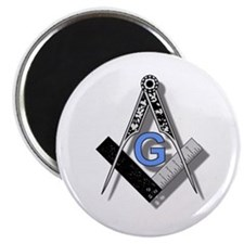 """Masonic Square and Compass #2 2.25"""" Magnet (10 pac"""