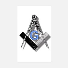 Masonic Square and Compass #2 Decal
