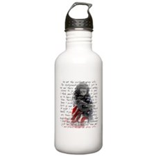 ARMY WIFE POEM Water Bottle