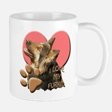 German shepherd Furkid Mug
