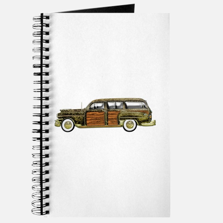 Classic Woody Station wagon Journal