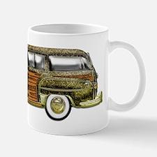 Classic Woody Station wagon Mug