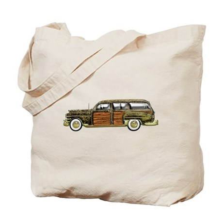 Classic Woody Station wagon Tote Bag