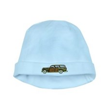 Classic Woody Station wagon baby hat