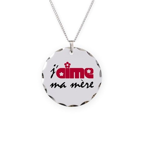 Ma Mere Necklace Circle Charm