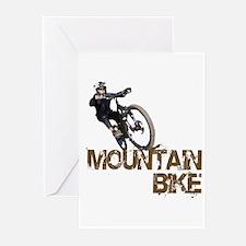 Mountain Bike Greeting Cards (Pk of 10)