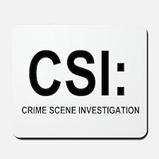 CSI:Crime Scene Investigation Mousepad