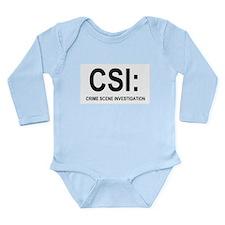 CSI:Crime Scene Investigation Long Sleeve Infant B