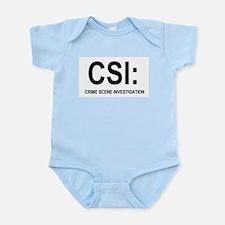 CSI:Crime Scene Investigation Infant Bodysuit