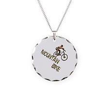 Mountain Bike Downhill Necklace