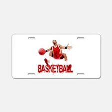 Funny Streetball Aluminum License Plate