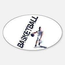 Unique Streetball Sticker (Oval)