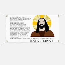 Un-American Jesus Banner